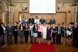 Foram doze as homenageadas com o prêmio Mulheres Empreendedoras. (Foto – Andressa Katriny/CMC)