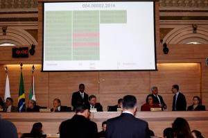 Aprovado, em segundo turno, o reajuste das diárias oficiais teve dois votos contrários. (Foto – Anderson Tozato/CMC)