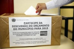As urnas para a consulta pública estão nas administrações regionais e na Câmara. O site do Legislativo também disponibiliza link. (Foto – Andressa Katriny/CMC)
