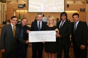 Por sugestão da Comissão de Saúde, Câmara Municipal fez um repasse de R$ 11 milhões aos hospitais credenciados ao SUS em Curitiba. (Foto – Andressa Katriny/CMC)