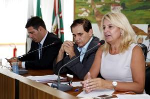 """""""Saúde é prioridade. Esta comissão está disposta a acompanhar e ajudar a saúde de Curitiba. Vamos intensificar o trabalho"""", comprometeu-se Noemia Rocha, presidente do colegiado de Saúde. (Foto – Chico Camargo/CMC)"""