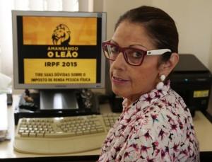 Maria do Carmo: controle rígido das aplicações facilita declaração.