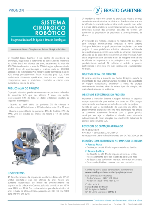 Projeto Sistema Cirúrgico Robótico - Folder