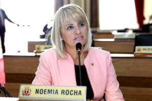 Noemia Rocha é presidente da Comissão de Saúde da CMC