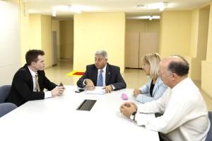 Vereadores da Comissão de Meio Ambiente acatam tramitação do projeto de Plano Diretor. (Foto: Chico Camargo/CMC)