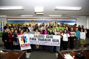 """Na terça-feira (2), a Câmara Municipal sediou audiência pública """"Salário Igual para Trabalho Igual"""", para tratar da diferença salarial entre homens e mulheres. (Foto: Chico Camargo/CMC)"""