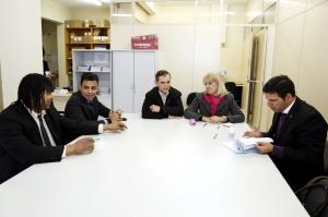 No primeiro semestre do ano, 23 pareceres a projetos de lei foram analisados pela comissão – formada pelos vereadores Noemia Rocha, Chicarelli, Mestre Pop, Paulo Rink e Valdemir Soares. (Foto: Andressa Katriny/CMC)